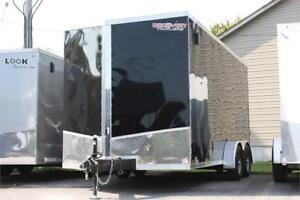 2018 Discovery 7X16 Enclosed Trailer With Extra Height