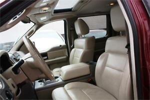 2004 Ford F150 4X4 Supercrew/ Beige leather interior/ Sunroof.