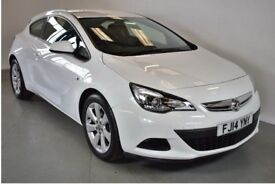 2014 14 Vauxhall Astra GTC Sport 1.4T Cruise Control 3 Months Warranty & AA Breakdown Cover
