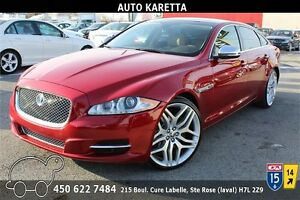 2013 JAGUAR XJL PORTFOLIO 3.0L SUPERCHARGED AWD, 64.684KM, CLEAN
