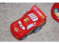 Disney Cars 2 Pull-Back Vehicle, Lightning McQueen