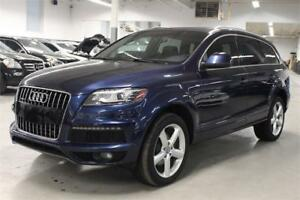 2013 Audi Q7 3.0 TDI SLINE/NAV/PANO/7PASS/PUSH START