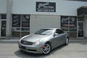 2006 INFINITI G35 Coupe Sport**6 SPEED MANUAL**SUNROOF**LEATHER*