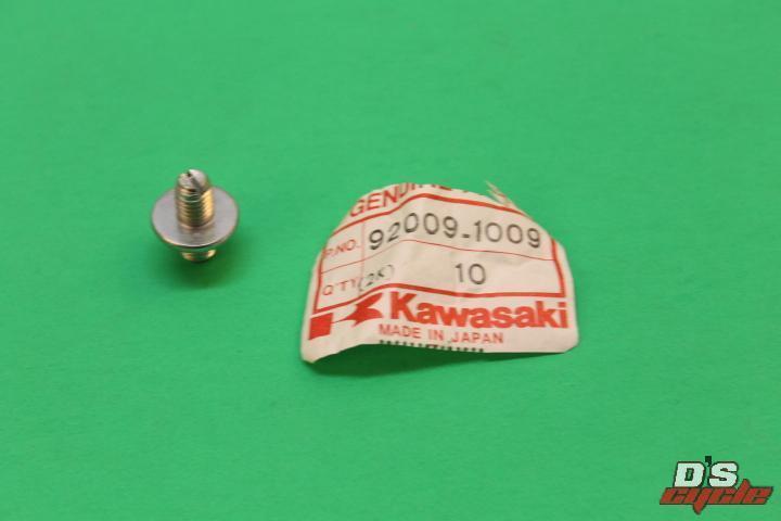 Kawasaki NOS NEW 92009-1009 Slotted Screw 8mm KZ ZX KZ1100 KZ1000 KZ750 KZ750