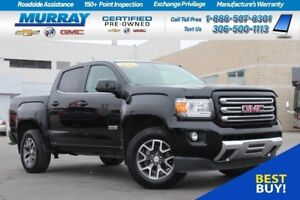 2016 GMC Canyon SLE 4WD*REMOTE START,BEDLINER,HEATED SEATS*
