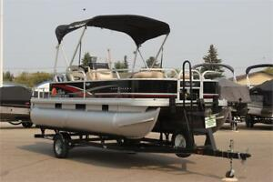 2014 SunTracker Bass Buggy 18 DLX w/Mercury 40hp 4stroke BigFoot