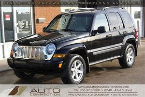 2006 Jeep Liberty LIMITED 4x4 ** LOW KM ** PREMIUM CONDITION **