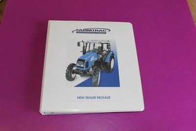 2007 Farmtrac Tractors New Dealer Package Advertising Binder.