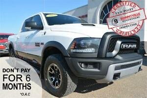 2015 Ram 1500 Rebel- ONLY 68,916 KMS, HARD TOP TONNEAU COVER