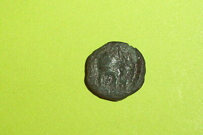 RARE Ancient GREEK COIN macedonian helmet ORTHAGOREIA MACEDONIA apollo mythology
