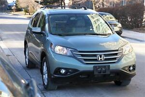 2013 Honda CRV 4WD TOURING *NAVI+LEATHER+BACKUPCAM*