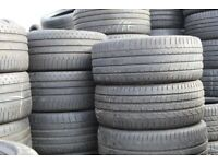 205/45/17. 225/50/18 Continental, Dunlop, Bridgestone Part Worn Used Tyres, Selling Cheap All sizes.