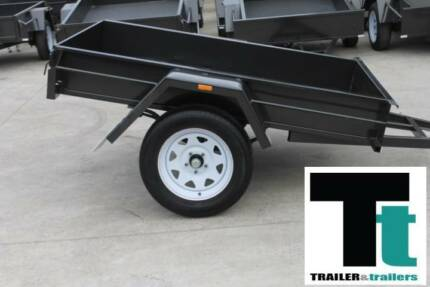 6x4 Box Trailer Light duty Single Axle Australian Made Thomastown Whittlesea Area Preview