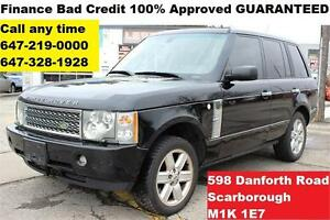 2005 Land Rover Range Rover HSE FINANCE 100% APPROVED WARRANTY