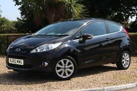 Ford Fiesta Zetec 1.25 ( 82ps ) 2010 3 DOOR HATCHBACK CAR ** ONLY 29941 MILES **