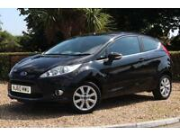 Ford Fiesta Zetec 1.25 ( 82ps ) 2010 3 DOOR HATCHBACK CAR ** ONLY 29941 MILES **