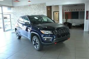 2018 Jeep Compass Trailhawk 4x4/Back-up cam/Nav