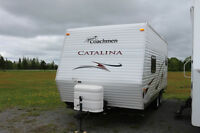 2010 COACHMAN CATALINA 20RD TRAVEL TRAILER