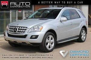 2009 Mercedes-Benz ML320 BlueTEC 4Matic ** DIESEL ** LOW KM **