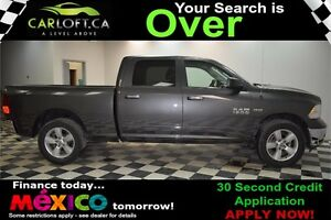 2016 RAM 1500 SLT CREW 4X4 - LOW KMS**CRUISE**BLUETOOTH