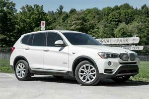 2015 BMW X3 xDrive28i/ LOADED WITH ALL THE TOYS