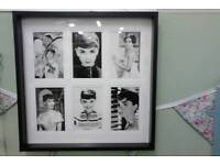 Audrey Hepburn and Marilyn Monroe pictures at the emporium in Christchurch