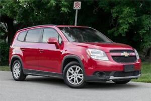 2012 Chevrolet Orlando 1LT| 7 PASSANGER| CarLoans For Any Credit