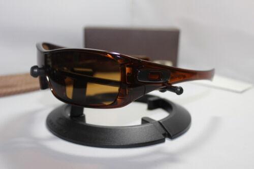 New Oakley Antix Sunglasses Polished Rootbeer/Bronze 30-892