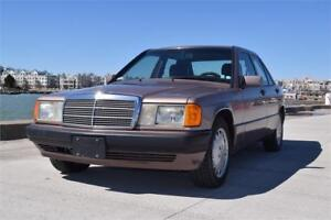 1993 Mercedes Benz 190 Series $5995
