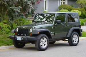 2007 Jeep Wrangler X — Trail Rated 4x4