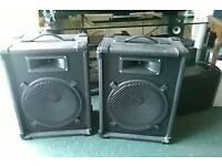 PA speaker's