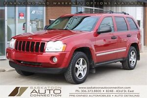 2005 Jeep Grand Cherokee ** V8 ** LEATHER ** REM START ** LOW KM