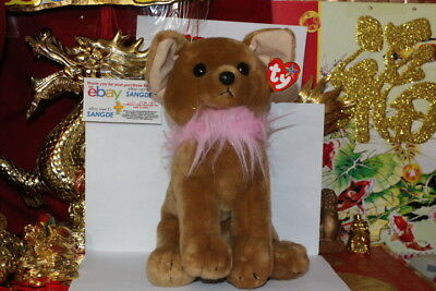 "TY DIVALECTABLE THE CHIHUAHA BEANIE BUDDY-11""-2006 RELEASE-MWNMT-NICE GIFT"