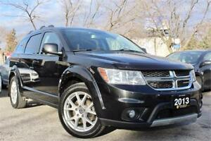 2013 Dodge Journey Crew - Accident Free - One Owner - 7 Pass!