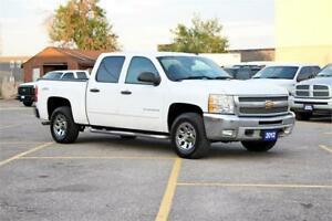 2012 Chevrolet Silverado 1500 4X4 LT|Certified & 2 Year Warranty