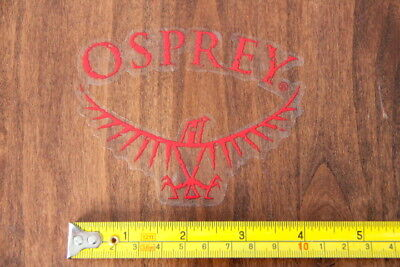 OSPREY Backpacks STICKER Decal RED Logo NEW for sale  Shipping to India