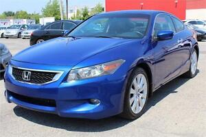 2008 HONDA ACCORD COUPE EX V6, TOIT OUVRANT, CUIR, CLIMATISATION