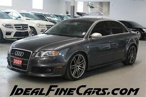 2007 Audi RS 4 4.2L 420 HP! POWER & LUXURY!