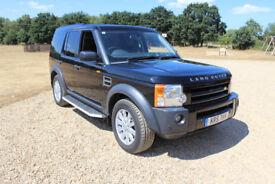 Land Rover Dicovery Tdi 2007, Black, 7 seats, satnav, auto,full service history, 12 months MOT.