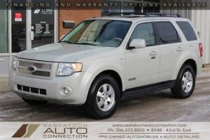 2008 Ford Escape LIMITED ** AWD ** LOW KM ** REMOTE START **