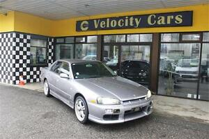 1998 Nissan Skyline R34 25GT Turbo 131K's 280hp