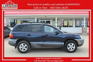 2004 Hyundai Santa Fe GL AS IS SALE $2500 AWD LOADED