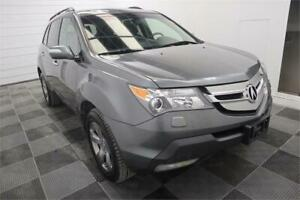 2008 Acura MDX Elite Pkg Leather! Heated Seats! Back-Up Cam! Nav