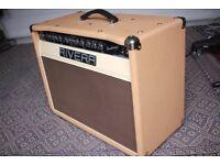 Rivera 55 Watts 1-12(Celestion Vintage30 speaker)Valve Combo amp