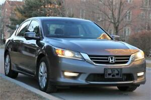 2013 Honda Accord EX-L SIDEVIEW/BACKCAM LEATHER ROOF NO ACCIDENT