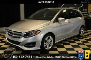 2015 MERCEDES B250 4MATIC/AWD CUIR CHAUFFANT/BLUETOOTH/MAGS
