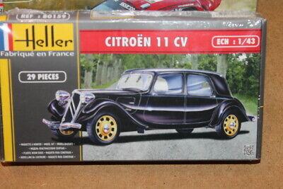 NEW Heller (80159): Citroën 11CV au 1/43