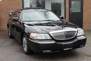 2003 Lincoln Town Car Cartier Ed *NO ACCIDENTS, LOADED, LOW KM*