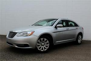 2011 CHRYSLER 200 LX   CERTIFIED  LOW KMS   ONLY $117 B/W  