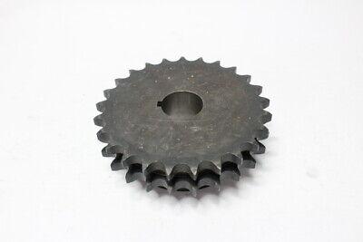 Martin Double Roller Sprocket Stainless Steel Black 58 D50b25h
